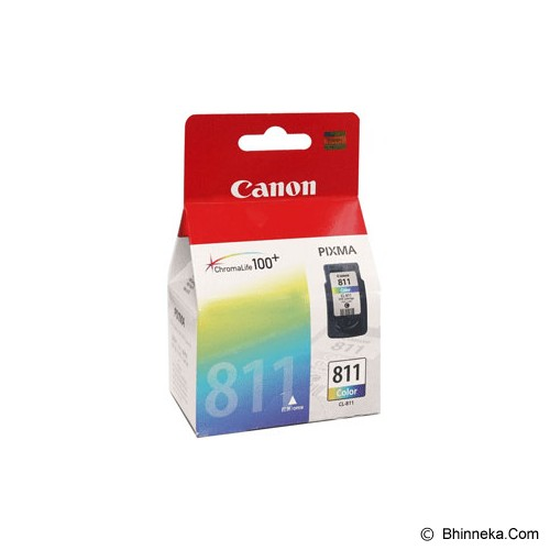 CANON Color Ink Cartridge [CL-811] - Tinta Printer Canon